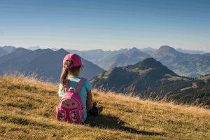 Kinderrucksack, Wanderung