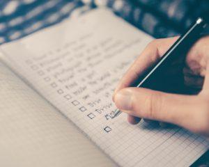 Checkliste/Packliste für Trekking, Zelten & Backpacking