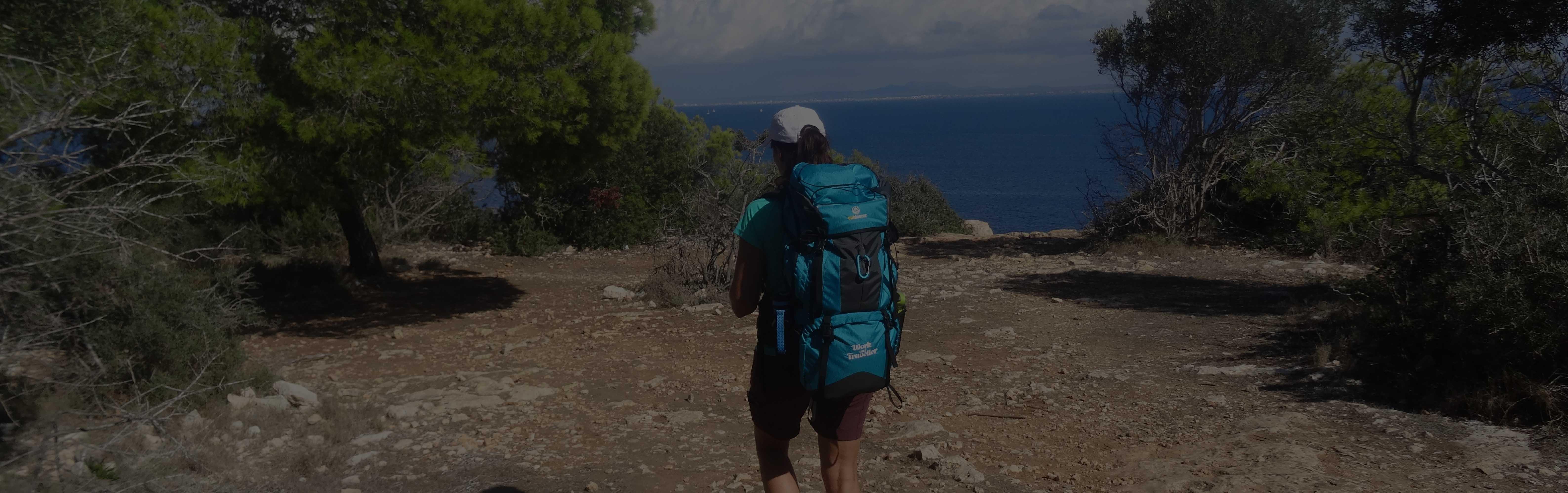 Damen Rucksack, work & traveller 65+10 Rucksack